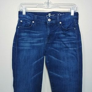 7 For All Mankind A Pocket Flare Jeans size 27